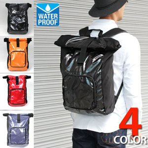 防水バッグ リュックサック ウォータープルーフ OUTDOOR 防水バック ks01 4色|5445