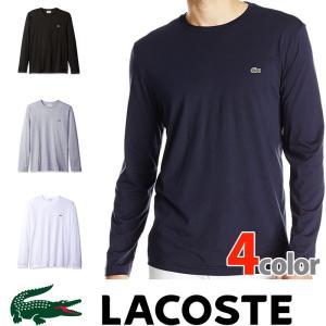 ラコステ メンズ ワンポイント ロング Tシャツ ロンT LACOSTE US正規品 la25|5445