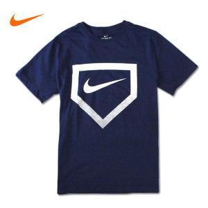 NIKE ナイキ Tシャツ 半袖 Tee nike08 ネイビー 紺|5445