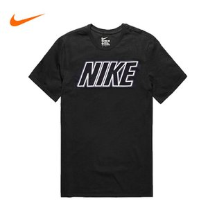 NIKE ナイキ Tシャツ 半袖 Tee nike09 ブラック 黒|5445