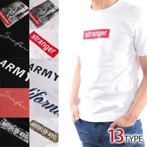 ボックスロゴ デザイン メンズ Tシャツ カモフラ no409 黒 白 ブラック ホワイト ネイビー ゆうパケット送料無料|5445