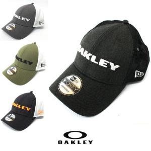 Oakley オークリー キャップ NEW ERA モデル 帽子 ゴルフ oa236 ホワイト ブラック|5445