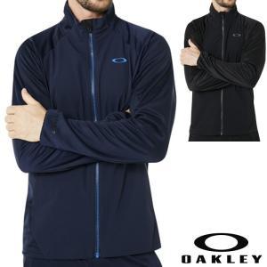 オークリー トレーニングウエアー ジャージ  速乾 吸汗 OAKLEY  ブラック ネイビー oa259 XLサイズ有り ゴルフなどに|5445
