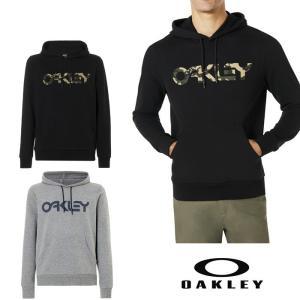 オークリーOAKLEY パーカー コットン100% ブラック グレー XL 2XL サイズ有り oa309|5445