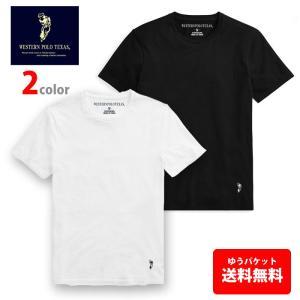 POLO Tシャツ  ウエスタンポロ ワンポイント 半袖  インナーにもコットン100% polo115|5445