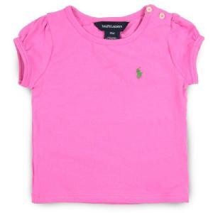 子供服 POLO Ralph Lauren ポロラルフローレン Ruffle Tee 半袖Tシャツ polo18 Maui Pink 1〜2歳|5445