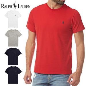 POLO Ralph Lauren ポロ ラルフローレン 半袖 Tシャツ ワンポイント r300 白 黒 紺|5445