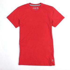 POLO Ralph Lauren ポロラルフローレン ワンポイント 半袖Tシャツ r344 レッド 5445