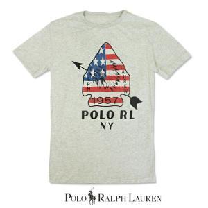POLO Ralph Lauren ポロ ラルフローレン RRL ダブルアールエル 半袖 Tシャツ r461 グレー|5445
