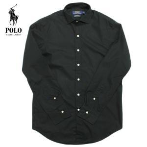 POLO Ralph Lauren ラルフローレン  長袖シャツ ボタンダウンシャツ  r480 ブラック 5445
