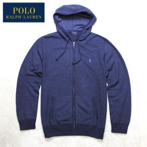 Polo Ralph Lauren ポロラルフローレン メンズスウェット フルジップパーカー r504 ネイビー 5445