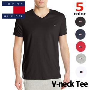 トミー  Tシャツ  TOMMY HILFIGER メンズ  トミーヒルフィガー Tシャツ t397 白 紺|5445