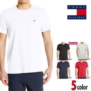 トミー Tシャツ TOMMY HILFIGER  トミーヒルフィガー Crewネック 半袖 t397|5445