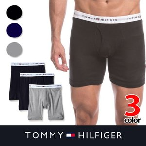 トミー メンズ 下着 TOMMY HILFIGER  トミーヒルフィガー ボクサーパンツ t427 ネイビー グレー|5445