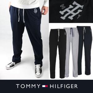 TOMMY HILFIGER トミーヒルフィガー メンズ スウェットパンツ t462 ブラック ネイビー グレー|5445