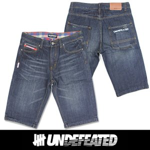 UNDEFEATED UNDFTD アンディフィーテッド メンズ ハーフ ジーンズ ud01|5445