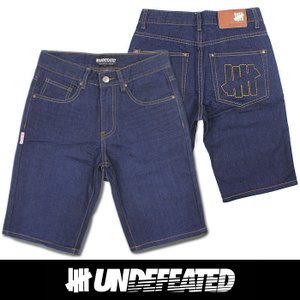 UNDEFEATED UNDFTD アンディフィーテッド メンズ ハーフ ジーンズ ud04|5445