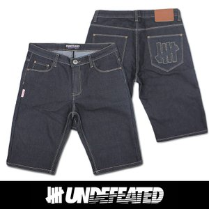 UNDEFEATED UNDFTD アンディフィーテッド メンズ ハーフ ジーンズ ud05|5445
