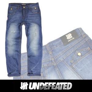 UNDEFEATED UNDFTD アンディフィーテッド メンズ ダメージジーンズ ud13|5445