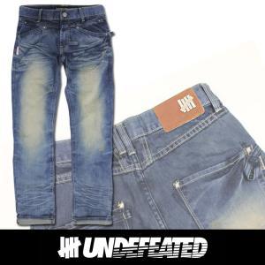 UNDEFEATED UNDFTD アンディフィーテッド メンズ ダメージジーンズ ud14|5445