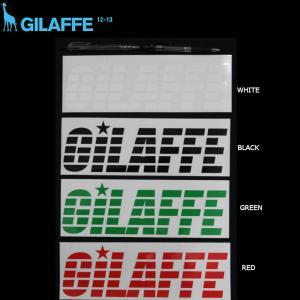 ジラーフ カッティング ステッカー スノーボード スケート ジラーフ GILAFFE 大サイズ 54tide