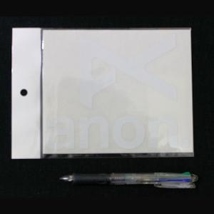 anon-290298 ANON アノン ブランドアイコン カッティングステッカー ホワイト JPN STCKR ANON WHT 15.2×12.3cm 54tide
