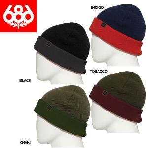 シックスエイトシックス 686 メンズ ビーニー ニット帽|54tide