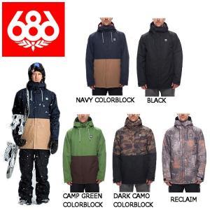 686 シックスエイトシックス Foundation Insulated Jacket メンズ スノージャケット スノーウェア スノーボードウエア アウター|54tide