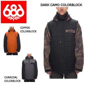 686 シックスエイトシックス Bedwin Snow Insulated Jacket メンズ スノージャケット スノーウェア スノーボードウエア アウター|54tide