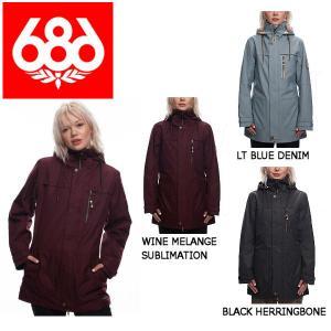 686 シックスエイトシックス Spirit Insulated Jacket レディース スノージャケット スノーウェア スノーボードウエア アウター|54tide