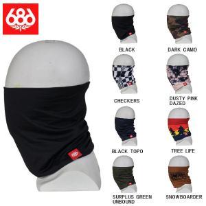 シックスエイトシックス 686 ROLLER FACE GAITER メンズ  フェイスマスク バラクラバ ネックウォーマー スノーボード スキー 8色|54tide