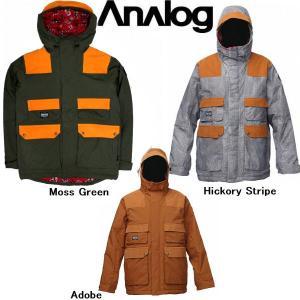 メンズ スノージャケット スノーウェア ウェア アナログ ANALOG ALDER JACKET 54tide