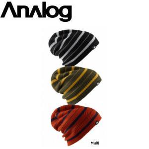 メンズ ビーニー ニット帽 ボーダー 3枚セット アナログ ANALOG 3 PACK SLOUCH BEANIE 54tide