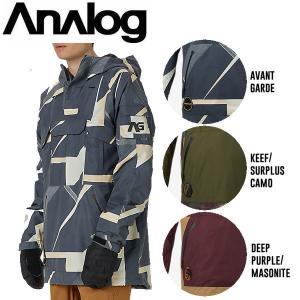 ANALOG アナログHighmark Anorak スノーボードウェア ウエア メンズスノージャケット 3カラー S-L|54tide