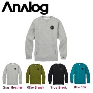 ANALOG アナログ 2017-2018 Enclave Crew メンズ トレーナー トップス ロングスリーブ 長袖 54tide