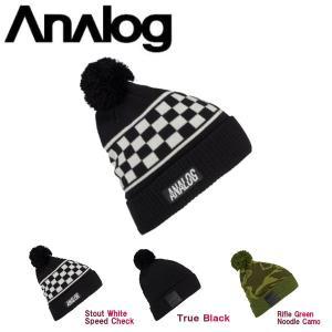 ANALOG アナログ 2017-2018 Bigelow Pom Beanie メンズ ビーニー ニット帽 帽子|54tide