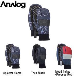 アナログ ANALOG メンズ レディース  スノーミット グローブ ミトン 手袋 スノーボード Men's Analog Bartlett Mitten|54tide