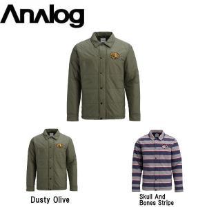 アナログ ANALOG メンズ スノージャケット スノーウェア コーチジャケット アウター スノーボード Men's Analog Det Cord Jacket|54tide