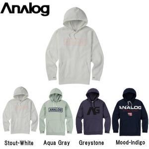 アナログ ANALOG メンズ プルオーバーパーカー 長袖 トップス Men's Analog Crux Pullover Hoodie|54tide