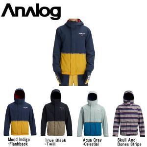 アナログ ANALOG メンズ スノージャケット スノーウェア ジップアップジャケット アウター スノーボード Men's Analog Blast Jacket|54tide
