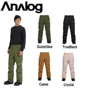 アナログ ANALOG メンズ スノーパンツ ボトムス スノーボード Men's Analog Mortar Pant|54tide