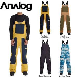 アナログ ANALOG メンズ スノーパンツ スノーウェア ビブパンツ つなぎ オーバーオール ボトムス スノーボード Men's Analog Ice Out Bib Pant|54tide