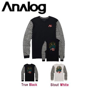 ANALOG アナログ 2017-2018 Rockaway LS Tee メンズ 長袖Tシャツ ティーシャツ TEE トップス ロングスリーブ ロンT|54tide