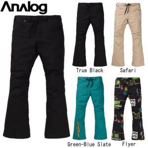 アナログ  ANALOG THATCHER PANT メンズ レディース 男女兼用 スノーパンツ ボトムス スノーボード S〜XL 4カラー|54tide