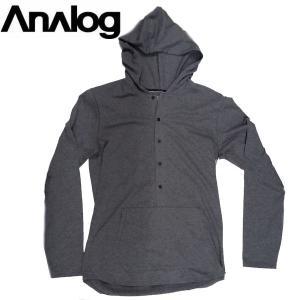 メンズ フランネル ジップアップ フードパーカー チェック柄 アナログ Tシャツ ロンT ANALOG INTEGRATE 耐久撥水加工 吸汗素材|54tide
