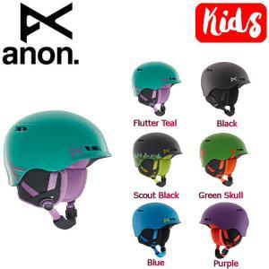 アノン ANON キッズ ヘルメット プロテクター スノーボード S-M・L-XL 6カラー Kids' Anon Burner Helmet 54tide