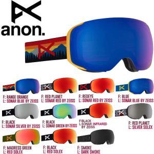 ANON アノン M2 Goggle メンズ スノーゴーグル スノーボード アジアンフィット|54tide