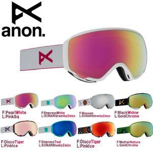 ANON アノン Womens WM1 Goggle レディース スノーゴーグル スノーボード アジアンフィット|54tide