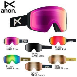 アノン MEN'S ANON SYNC GOGGLE メンズ スノーゴーグル  スキー スノーボード ゴーグルバッグ付属 6カラー|54tide