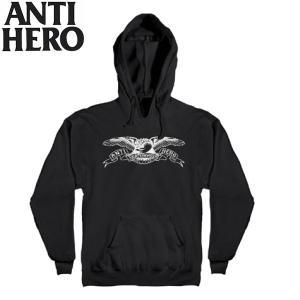 ANTI HERO アンタイヒーロー BASIC EAGLE Youth Pullover Hooded アンチヒーロー キッズ ユース ボーイズ プルオーバーパーカー 長袖トップス|54tide